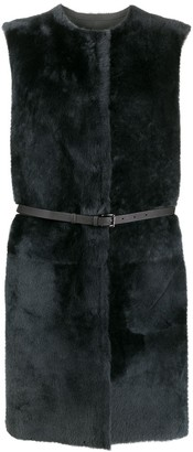 Desa 1972 Sleeveless Shearling Jacket