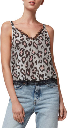 As By Df Temescal Printed Cami with Lace