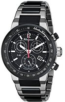 Salvatore Ferragamo Men's F55030014 F-80 Analog Display Swiss Quartz Black Watch