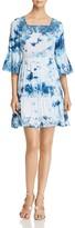 Cupio Bell Sleeve Tie-Dye Dress