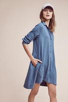 Cloth & Stone Farryn Laced-Back Shirtdress