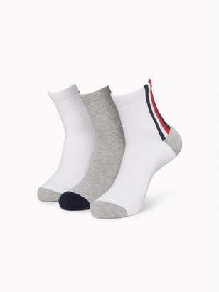 Tommy Hilfiger Quarter Top Sock 3PK