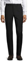 Zanella Parker Solid Flat Front Trousers
