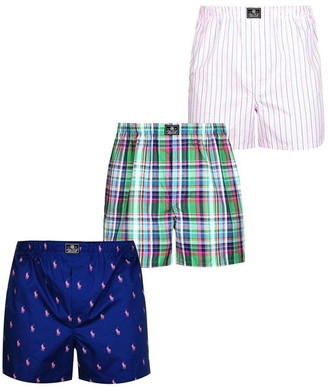 Polo Ralph Lauren 3 Pack Woven Boxers