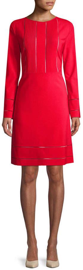 Piazza Sempione Wool-Blend Sheath Dress