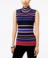 ECI Sleeveless Mock-Turtleneck Sweater