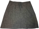 MiH Jeans Grey Cotton Skirt for Women