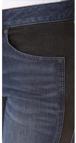 Marc by Marc Jacobs Seamed Cigarette Jeans
