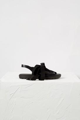 French Connenction Hattie Lace Up Flatform Sandals