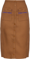 Marco De Vincenzo Buttoned high-rise skirt