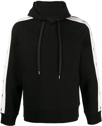 Neil Barrett Side Stripes Hoodie