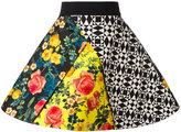 Fausto Puglisi multi-print full skirt - women - Silk/Acetate - 40