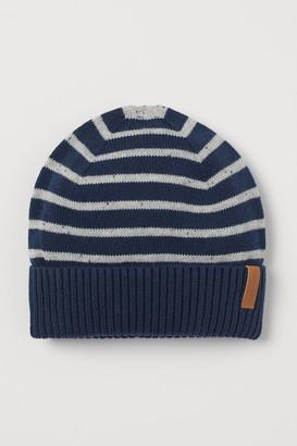 H&M Fine-knit Cotton Hat