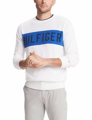 Tommy Hilfiger Men's Rugby Crewneck Sweater