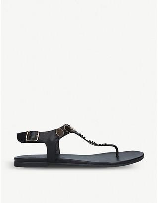 Kurt Geiger London Maddie disc-embellished leather sandals