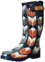 Chooka Women's Vintage Tulip Rain Boot