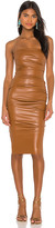 Nookie Posse x REVOLVE Faux Leather Midi Dress