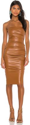 Nookie Posse x REVOLVE Faux Leather Midi Dress