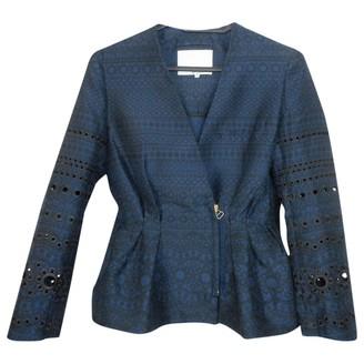 3.1 Phillip Lim Blue Silk Jacket for Women
