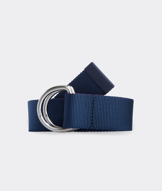 Vineyard Vines Two-Tone Performance D-Ring Belt