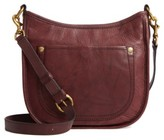 Frye Campus Rivet Leather Crossbody Bag - Brown