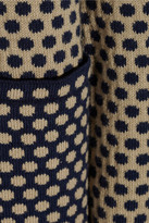 Chinti and Parker Cotton-jacquard cardigan