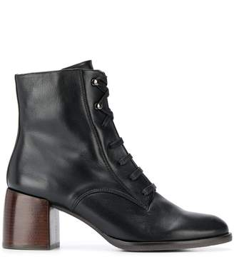 Chie Mihara Omast lace-up ankle boots