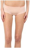Emporio Armani Visability Bi-Colour Microfiber Cheeky Pants Women's Underwear