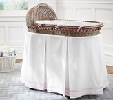 Pottery Barn Kids Harper Bassinet Bedding Set: Bumper & Crib Skirt