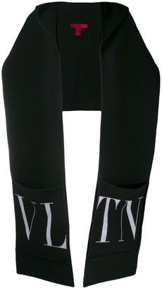 Valentino VLTN hooded scarf