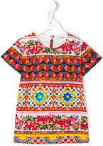 Dolce & Gabbana Mambo print T-shirt - kids - Cotton - 8 yrs