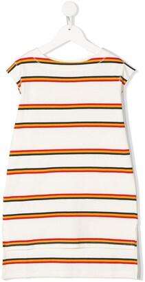 Marni stripe print T-shirt dress