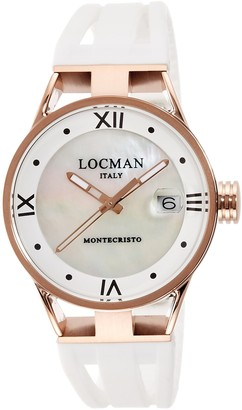 Locman Analog Quartz Watch with Stainless Steel Strap Clear 3 (Model: 4573282434260)