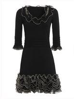Alexander McQueen Frilly Mini Dress