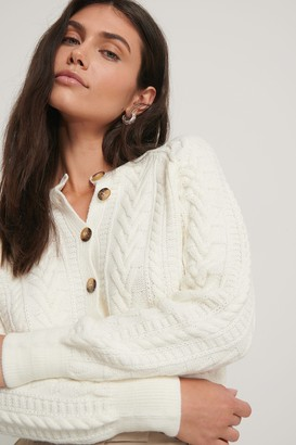 Trendyol Button Detail Knit Cardigan