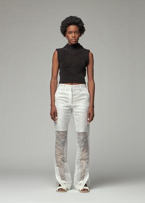 Tula Cecilie Bahnsen Women's Cropped Vest in Black Size 8