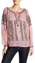 Calypso St. Barth Beldisa Embroidered Blouse