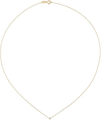 Wouters & Hendrix Gold Single Champagne Diamond Necklace