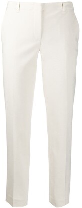 Emporio Armani low-waist tapered trousers