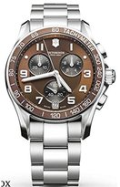 Victorinox Men's 249036 Stainless-Steel Swiss Chronograph Watch
