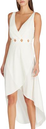 Valimare Serena Sleeveless Cutout-Waist Dress
