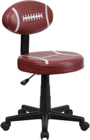 Asstd National Brand Kids Armless Football Task Chair