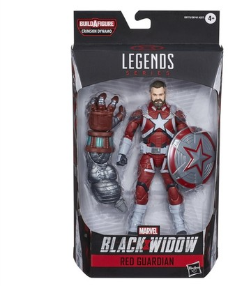 Marvel Hasbro Black Widow Legends Series 6-inch Collectible Red Guardian Action Figure With 1 Accessory, Ages 4 And Up