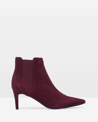 Oxford Luella Leather Ankle Boots