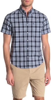 Original Penguin Textured Check Print Slim Fit Shirt
