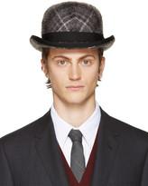 Thom Browne Grey Stephen Jones Edition Bowler Hat