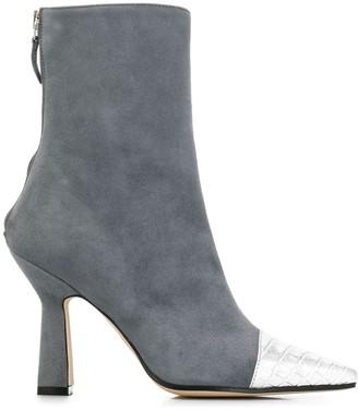 Paris Texas Calf Length Boots