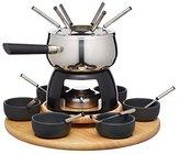Kitchen Craft Master Class Artesa Stainless Steel 6-Person Party Fondue Set