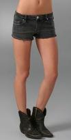 Blank Denim Studded Cutoff Shorts