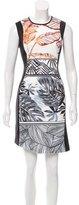 Clover Canyon Printed Sheath Dress